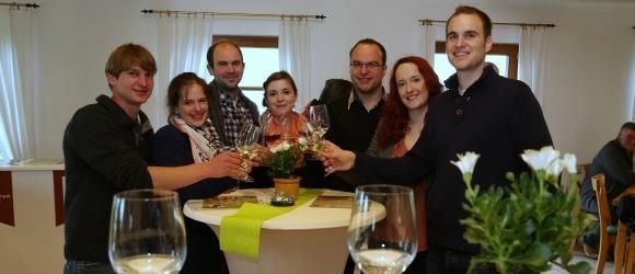 Weingutr Becker & Friends Weinwanderung Bild